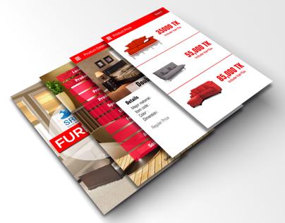 Furniture Mobile Apps Design