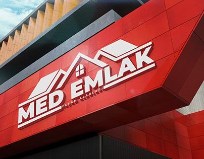 MED Emlak Logo Tasarımı | Professional Logo Design