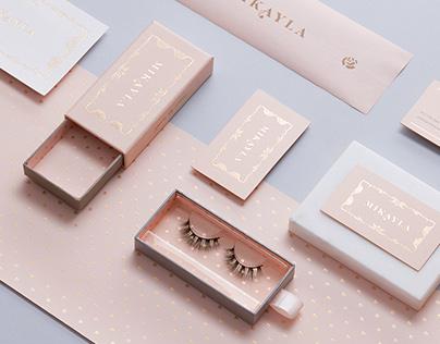 Mikayla Eyelashes Packaging Design