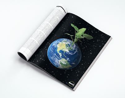 Magazine Mock Ad