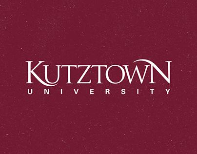 Design Work for Kutztown University