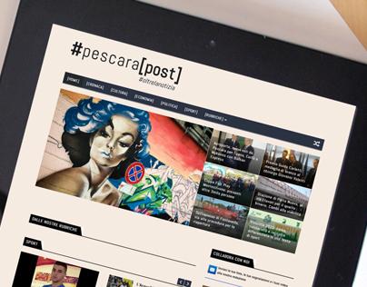 Pescara Post | Logo, Identity & Web design