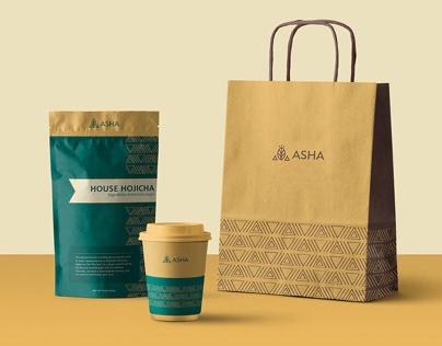 Tea House Rebranding