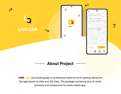 Taxi Booking Application Android iOS
