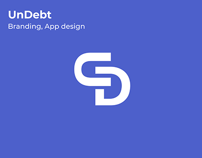UX/UI & Logo Design: UnDebt Finance App