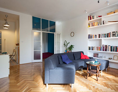 Bright apartment with a Moroccan hint