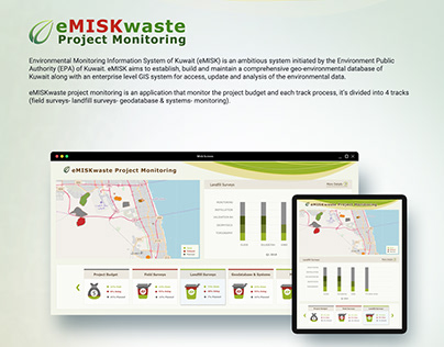 eMISKwaste Project Monitoring (eMISK of kuwait)