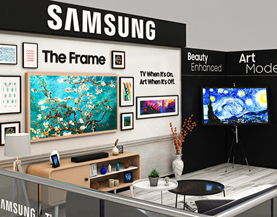 SAMSUNG ( The Frame activation Booth ) Proposal