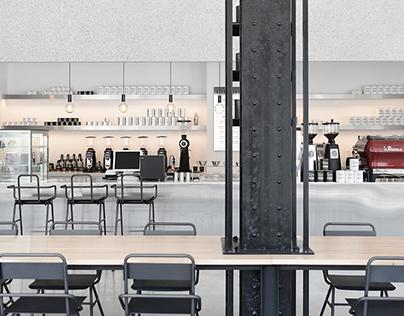 EZER COFFEE / Cafeteria, Space, Interior Design