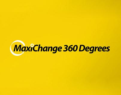 Identity & Website for MaxiChange360 Degrees