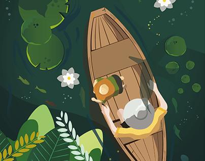 Beneath the Lillies