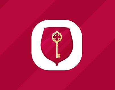 Невинный клуб. Нейминг, логотип мобильного приложения.