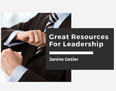Great Resources For Leadership