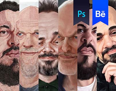 Caricaturist in Caricatures
