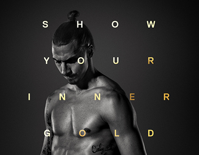 SHOW YOUR INNER GOLD - THE POSTERS