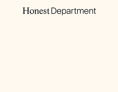 HONEST DEPARTMENT