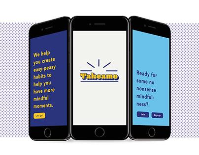 Takeamo- Mindful Habits App
