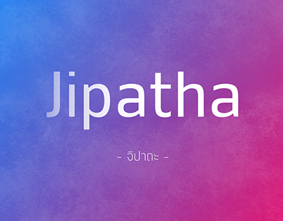 Jipatype Font (Free 1 Weight Commercial use)
