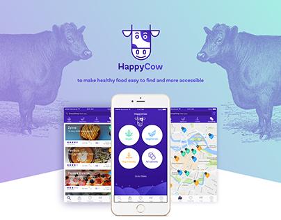 HappyCow mobile concept