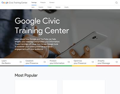 Google Civic Training Center