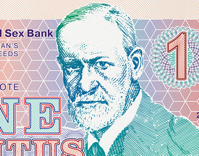 """Banknotes """"Sex is Money"""""""