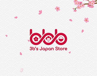3b's Japan Online Store