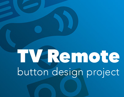 TV Remote Button Design
