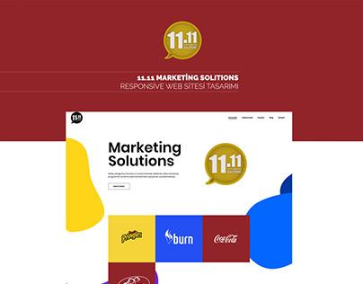 11.11 Marketing Web Site Tasarımı