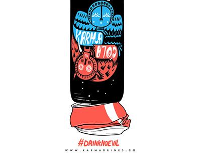 Karma Cola - Advertising Concept