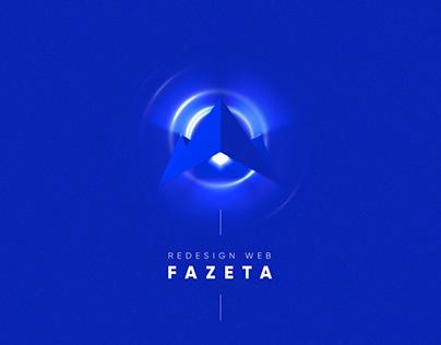 Web Design - FAZETA PRODUCCIONES