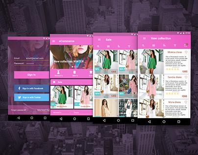 eShop ui concept