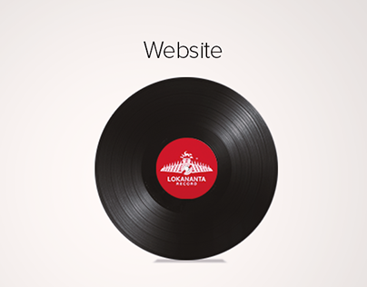 Lokananta Records Website