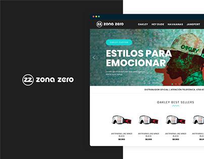 ZonaZero / E-commerce / Responsive UX UI