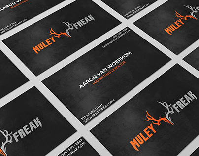 Muley Freak Traditional Business Cards
