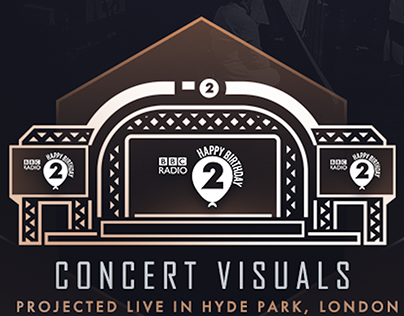BBC PROMS: RADIO 2 AT 50 [LIVE MOTION GRAPHICS]