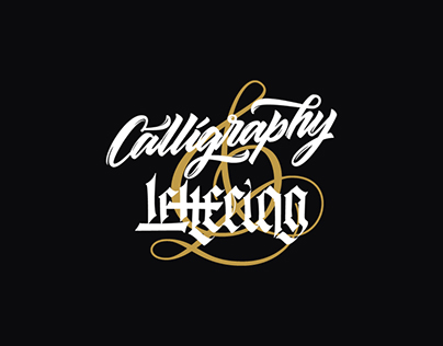 Calligraphy & Lettering Vol.1