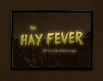The Hay Fever| Movie Poster Design