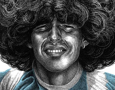 Diego Maradona, Argentine soccer player