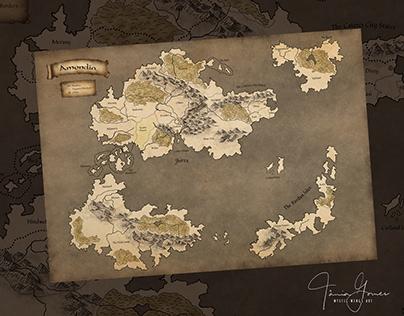 Amondia Map