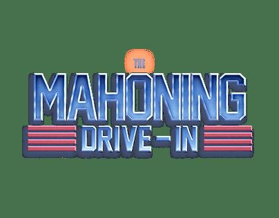 Mahoning Drive-In Logo Treatments