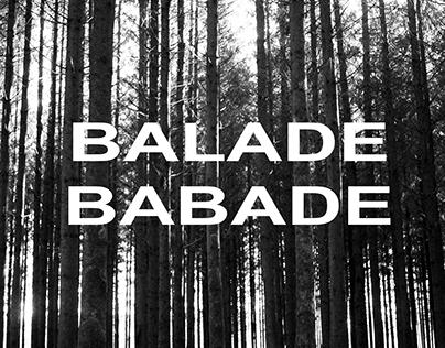 Balade babade