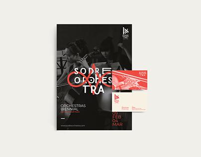 Sodre Orchestra Visual Identity