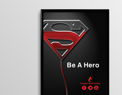 Be A Hero OOH Ad