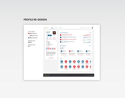 TopCoder Profile Re-design