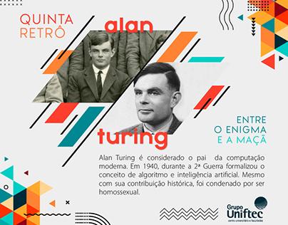 Quinta Retrô 2021 - Redes sociais/blog - Grupo Uniftec