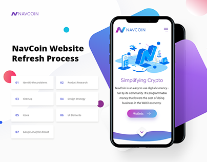 UI/Branding | NavCoin Website Refresh