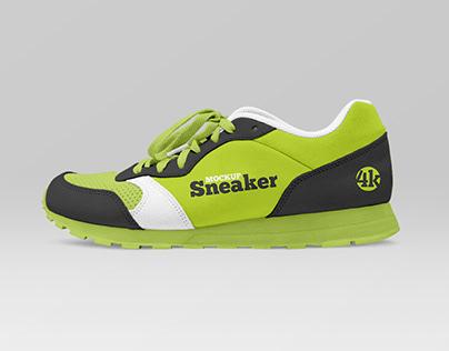 Free Sneaker Mockup