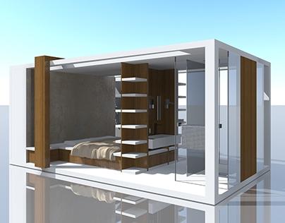 Nobilis, meuble chambre/salle de bain