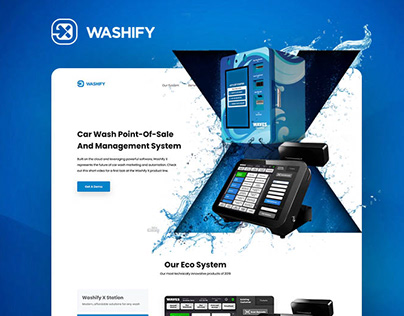 Washify. Point-of-Sale Software For Car Washes