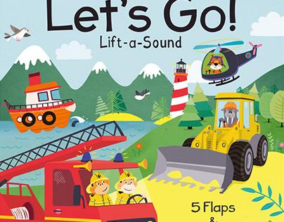 Children's book - Let's go!